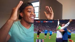 World Cup 2018 England VS Croatia Reaction