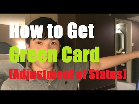 Adjustment Of Status How To Get Green Card Through Marriage Aos