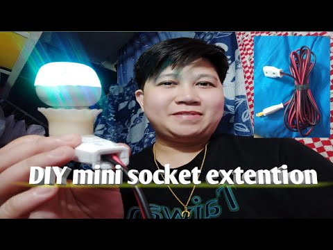 HOW TO MAKE MINI EXTENTION CORD / jack nazaire