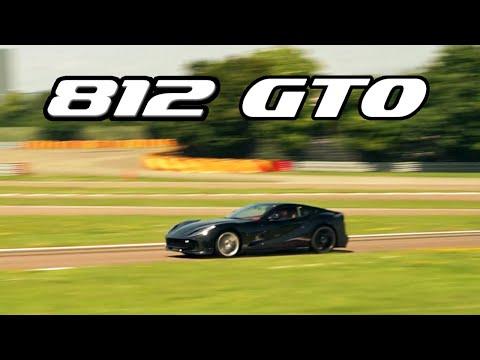 NEW FERRARI 812 GTO ON THE TRACK?