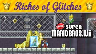 Riches of Glitches in New Super Mario Bros. Wii (Glitch Compilation)