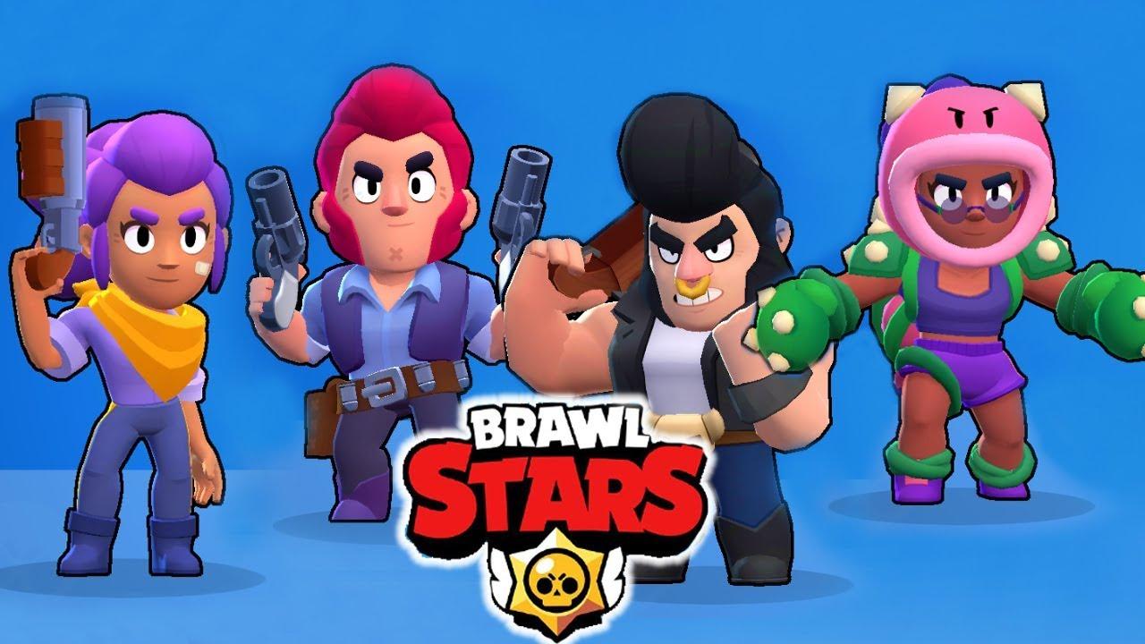 Новая игра Brawl stars Первые герои На что они способны ...