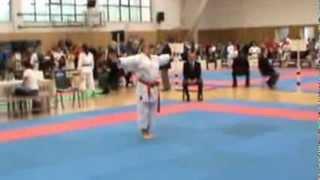 Маленькая каратистка большого каратэ WKF