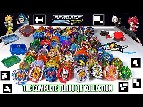 The Complete Beyblade Burst Turbo QR Code Collection! Stadiums + Launchers + Beyblade Sets and More!