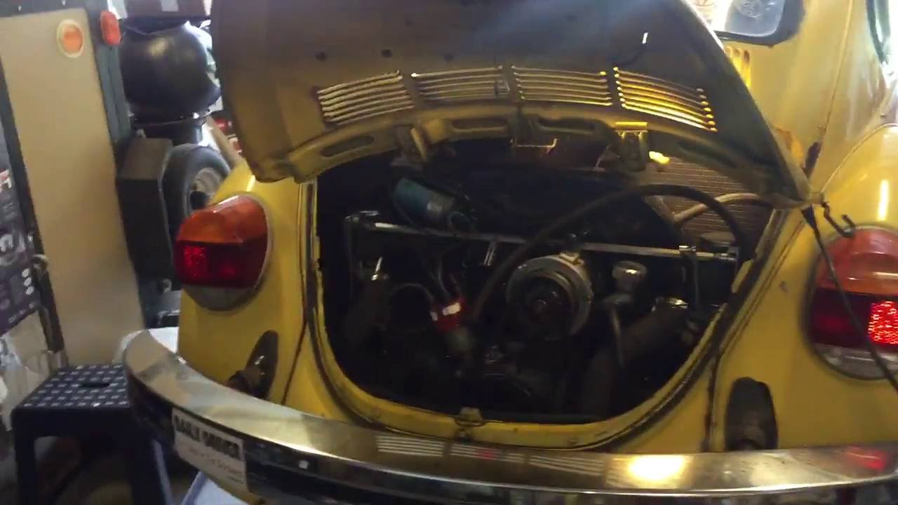hight resolution of tips for removing replacing the starter on a classic vw beetle