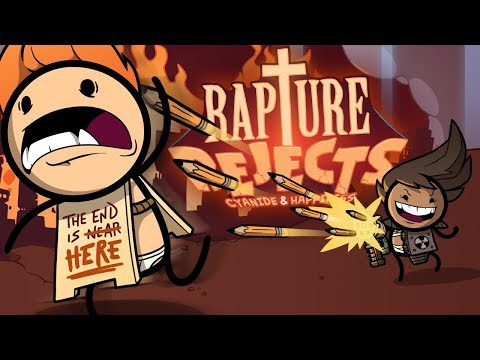 Heaven Has Rejected Me! - Cyanide & Happiness Battle Royale! - Rapture Rejects Gameplay Part 1