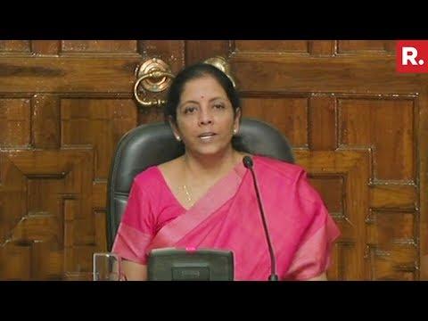 Nirmala Sitharaman On Rafale Deal Allegations