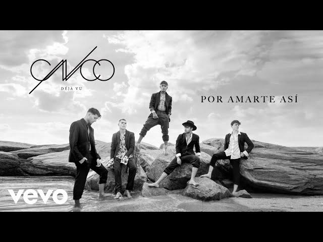 CNCO - Por Amarte Así (Audio)