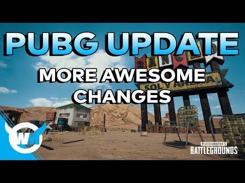 PUBG Update: NEW ADS Changes, 3D Replays, Win94 Buffs + Bug Fixes - BATTLEGROUNDS PC GAMEPLAY