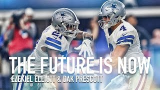"Ezekiel Elliott & Dak Prescott - ""The Future is Now"" Rookie Highlights (HD)"