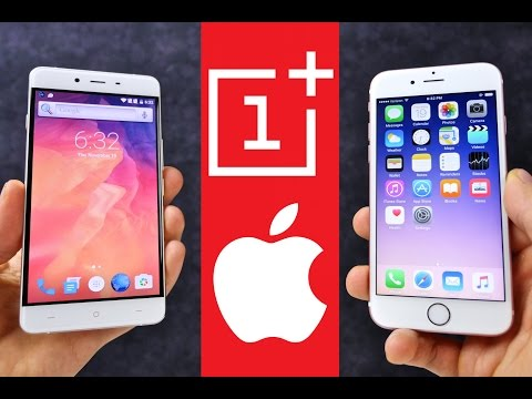 OnePlus X vs iPhone 6S Comparison - iPhone 7 In Disguise!