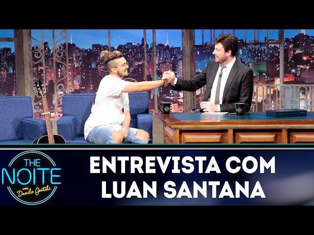 Melhores momentos 2018: Luan Santana | The Noite (20/02/19)