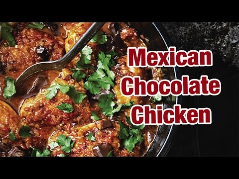 Mexican Chocolate Chicken