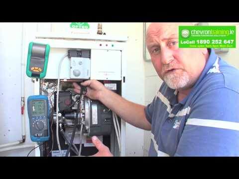 Chevron Training - OFTEC Oil Boiler & Burner Installation & Servicing Training Course Demo
