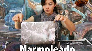Marmoleado