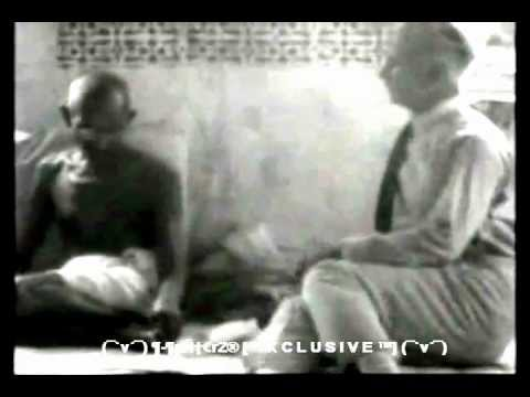 Mahatma Gandhi's Rare Interview.wmv