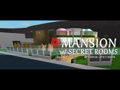 ROBLOX | Welcome To Bloxburg | This Mansion has SECRET ...