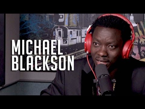 Michael Blackson Talks Coming Up w/ Kevin Hart + Sings National Anthem