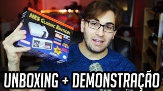 NES CLASSIC EDITION MINI - Unboxing e Demonstração do Nintendinho Miniatura!