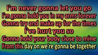 Sergio Mendes 1983 NEVER GONNA LET YOU GO [karaoke]