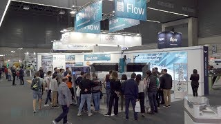 Video stand FLOW - BIEMH 2018 Bilbao - iStandVideo