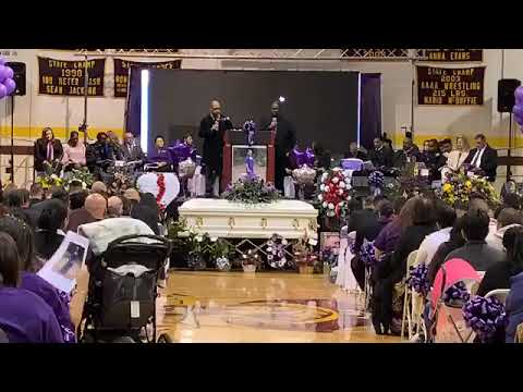 Funeral for Hania Aguilar
