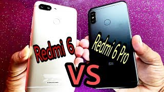 Redmi 6 vs Redmi 6 Pro Speed Test Comparison
