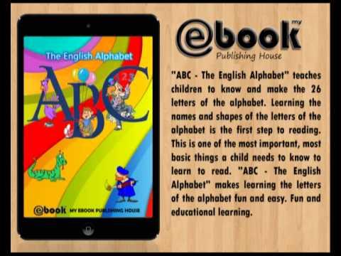 ABC - The English Alphabet (ebook, epub, mobi) - My Ebook Publishing House