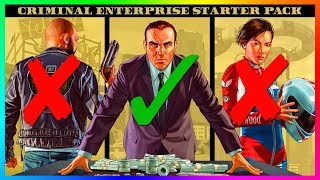 GTA Online NEW Criminal Enterprises Starter Pack DLC Buyer BEWARE - Is It Worth It & Should You Buy?