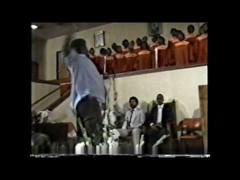 Greater Saint Stephen Mass Choir of 1984 under the direction of Raymond Myles 1984