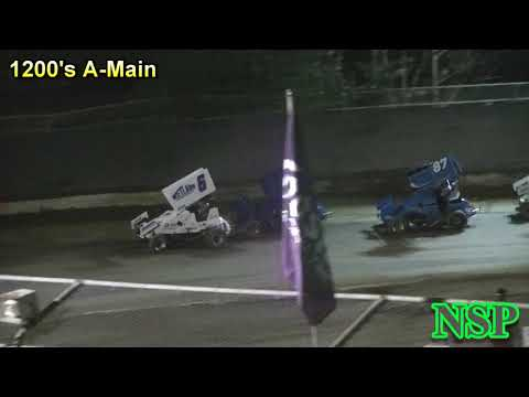 July 21, 2018 Clay Cup Nationals Night #3 1200 Mini Sprints A-Main Deming Speedway