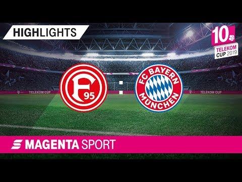 Fortuna Düsseldorf - FC Bayern München | Halbfinale 1, Telekom Cup 2019 | MAGENTA SPORT