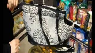 Зоо товары - Теплая сумка переноска для собак и кошек