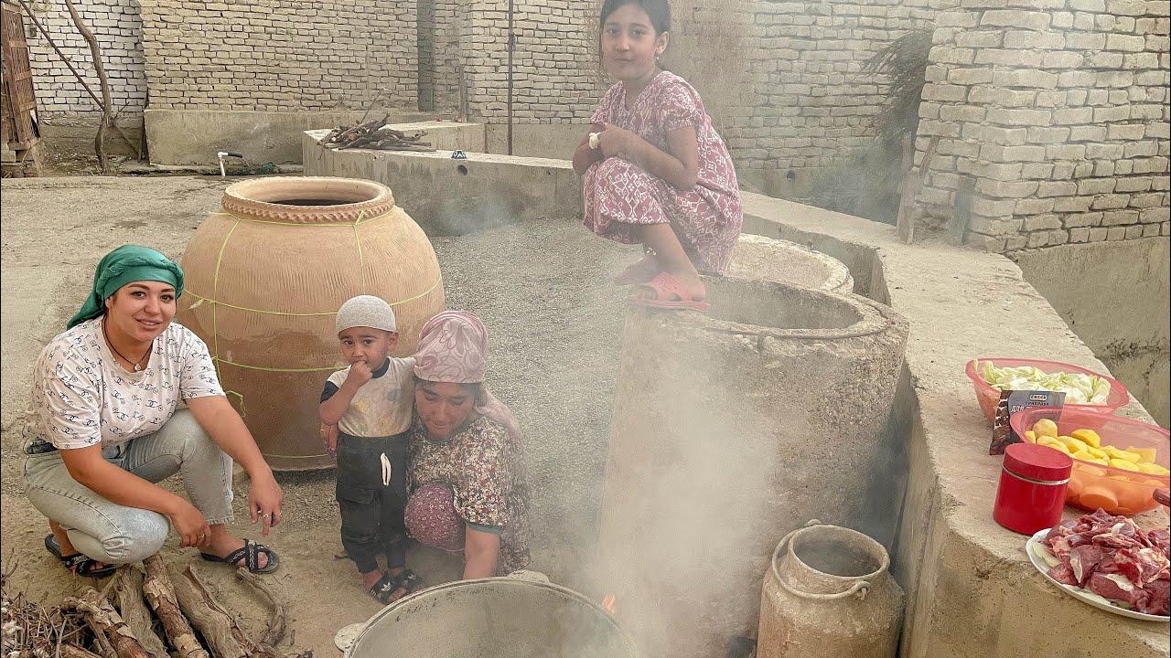 Узбекистан ! Как собирают виноград ! Продажа на НОЧНОМ БАЗАРЕ ! Жизнь в  КИШЛАКЕ ! Фергана