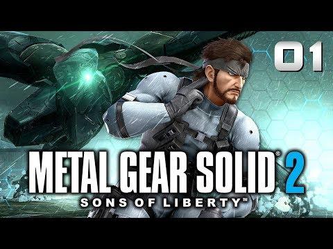 METAL GEAR SOLID 2 : Le Retour De Solid Snake | LET'S PLAY FR #1