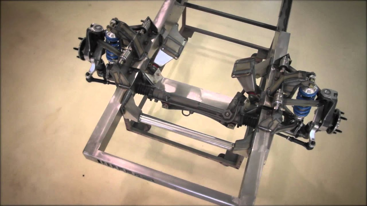 Roadster Shop Fast Track 64-72 Mustang Chassis - YouTube