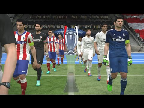 PES 2015  Real Madrid in the Champions League (all goals)