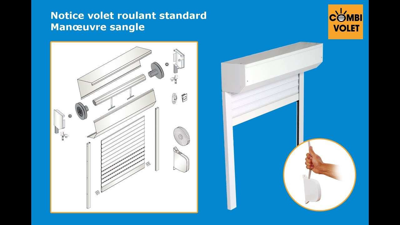 Volet Roulant Exterieur A Sangle Notice De Montage Kit Eco Volet Roulant Sangle à Assembler