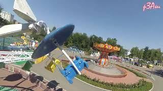 Парк_2017-Аттракцион Орбита, Дроп зона, Емеля в г.Саранск
