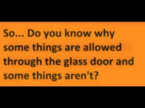 Green Glass Door Riddle Youtube