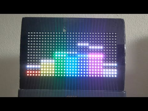 CMPE 244 Project Demo - Audio Decoder with Graphic Equalizer and RGB LED Matrix Display
