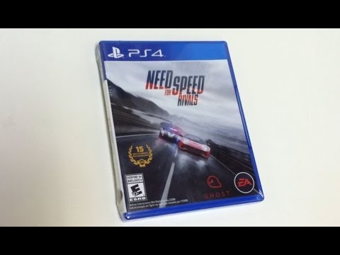 need for speed rivals ps4 unboxing youtube. Black Bedroom Furniture Sets. Home Design Ideas