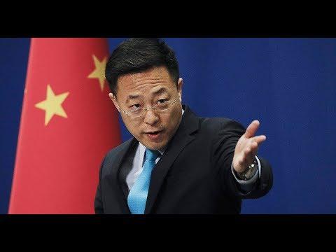 Представитель МИД КНР Чжао Лицзянь предположил, что коронавирус   биологическое оружие на Китай