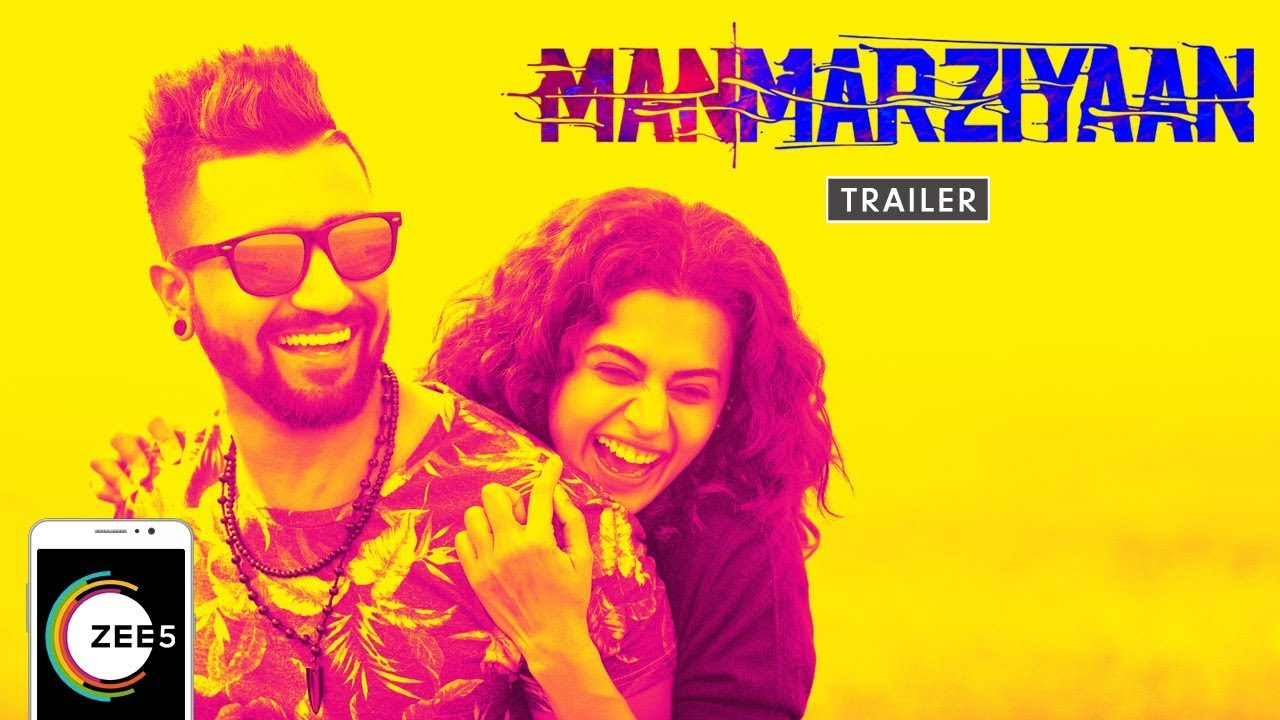 Manmarziyaan Full Movie | Vicky Kaushal, Taapsee Pannu & Abhishekh Bachchan | Streaming Now On Z