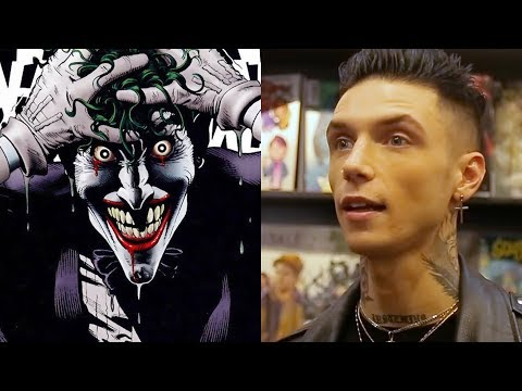 BVB's Andy Biersack: My Favorite Batman Villains