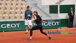 Maria Sharapova - on Lenglen