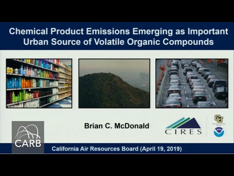 Chemical Product Emissions Emerging As Important Urban Source Of VOCs