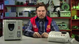 видео Электромеханический стабилизатор напряжения: достоинства и недостатки