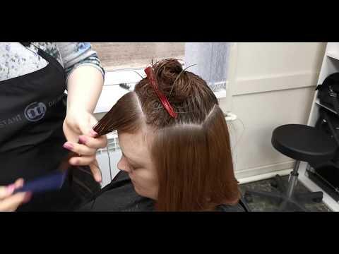 Градуированная стрижка/Стрижка Шэгги/Стрижка на среднюю длину волос/Женская Стрижка