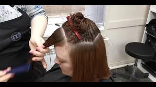 Градуированная стрижка Стрижка Шэгги Стрижка на среднюю длину волос Женская Стрижка